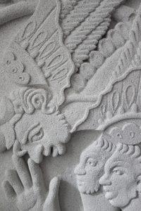 Udsnit relief Sif Itona Westerberg